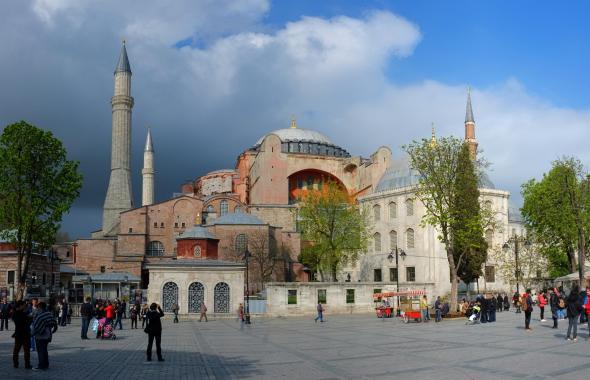 La mosquée Ste Sophie