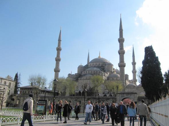 La mosquée bleue